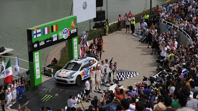 FIA World Rally Championship Mexico - Day Three
