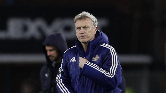 Sunderland manager David Moyes after the match