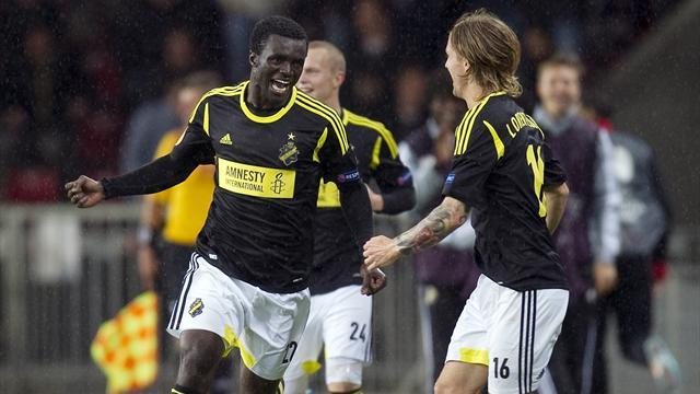 Europa League - AIK enjoy cost benefits despite Europa League struggle