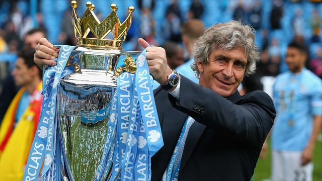 Premier League - Managers: Pellegrini delighted City won it in style