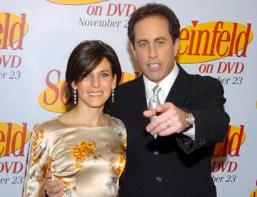 Jerry Seinfeld and wife Jessica 'Seinfeld' DVD Release Party New York City - 11/17/04