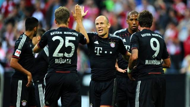 Mandzukic scores on debut as Bayern win Super Cup