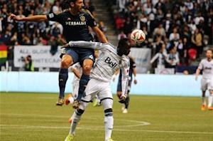Vancouver Whitecaps 2-2 LA Galaxy: Manneh stunner saves point at home