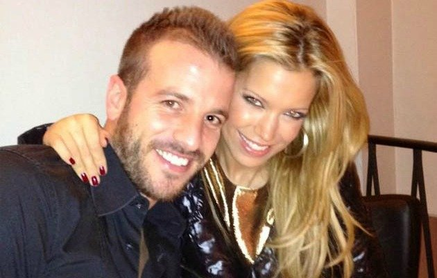Rafael van der Vaart hit his wife at a New Year's Eve party.