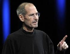 Steve Jobs, chief executive officer of Apple Inc., unveils the iCloud storage system at the Apple Worldwide Developers Conference 2011 in San Francisco, California, U.S., on Monday, June 6, 2011 -- Getty Premium