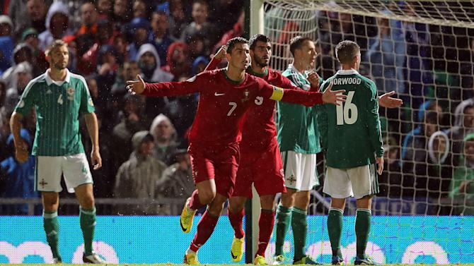 Soccer - FIFA World Cup Qualifying - Group F - Northern Ireland v Portugal - Windsor Park