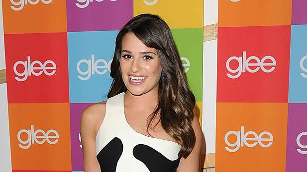 Lea Michele Glee Screening