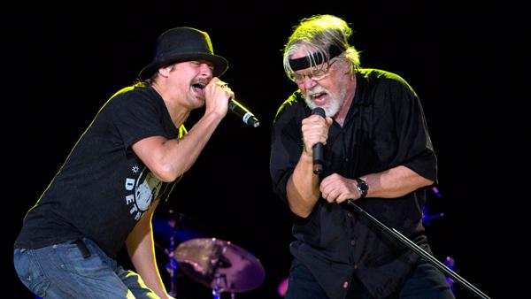 Bob Seger and Kid Rock to Team Up for Two Shows