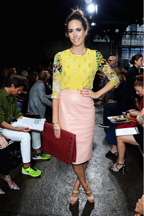 DKNY Women's - Front Row - Spring 2013 Mercedes-Benz Fashion Week