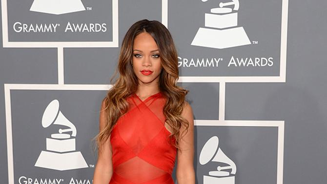 The 55th Annual GRAMMY Awards - Arrivals: Rihanna