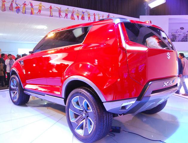2012 maruti suzuki xa alpha compact suv unveiled pictures html autos weblog. Black Bedroom Furniture Sets. Home Design Ideas