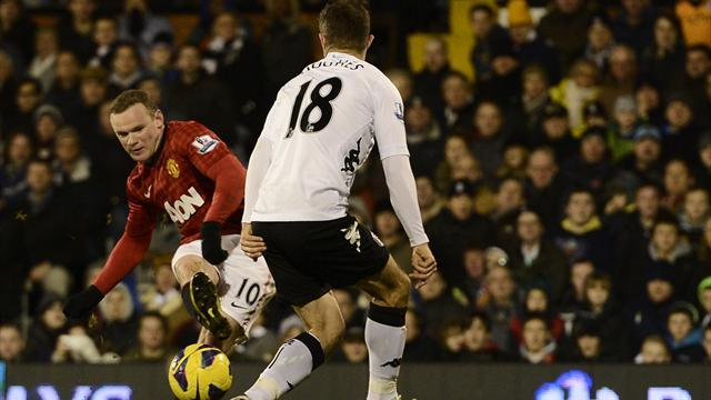 Premier League - Rooney sichert United-Sieg gegen Fulham