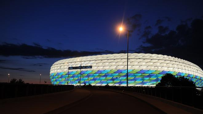 Munich's Football Stadium Is AFP/Getty Images