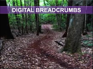 Lawyers: Content, The Digital Breadcrumbs You Need To Spread image Powerpoint Slide of Digital Breadcrumbs