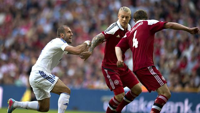 World Cup - Armenia drub Denmark, Ibrahimovic double downs Faroes