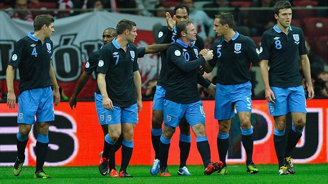 World Cup: Rooney goal helps poor England hold Poland