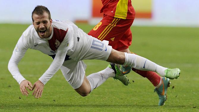 World Cup - Injured Van der Vaart out of Brazil 2014