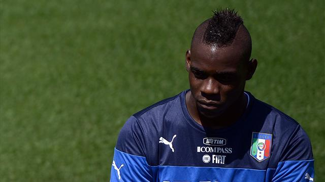 World Cup - Police called in after Balotelli racially abused at Italy's training camp