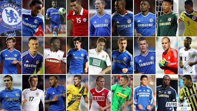 Premier League - Chelsea's £100m army on loan across the world