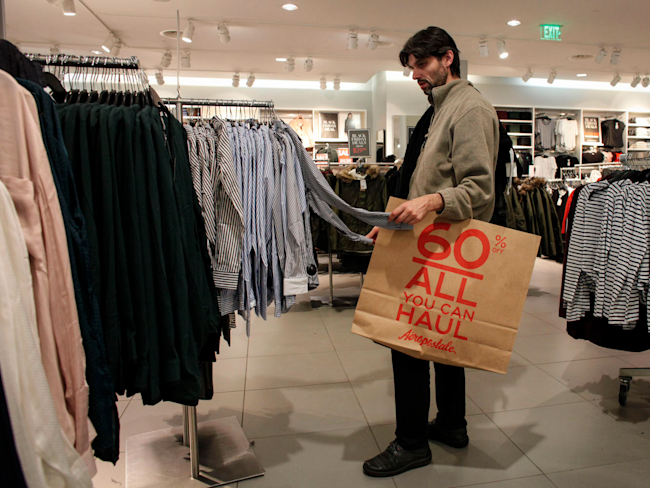 American consumers showing more confidence in economy