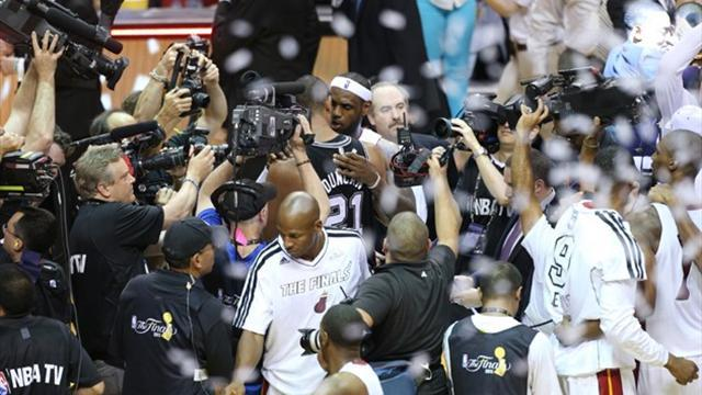 Basketball - Miami Heat capture second consecutive NBA championship