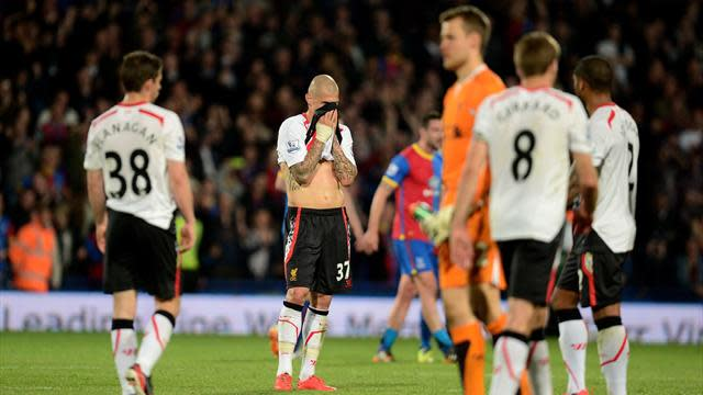 Premier League - Liverpool collapse leaves title dream in tatters
