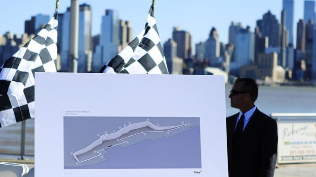 Formula 1 - New Jersey on expanded 2014 calendar