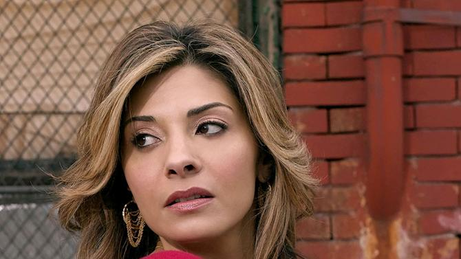 Callie Thorne stars in Rescue Me on FX.