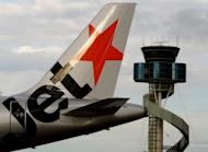 A plane from Qantas airline budget carrier Jetstar in 2007. New budget airline Jetstar Hong Kong has applied for a licence to operate air services in the southern Chinese city, reports said Friday