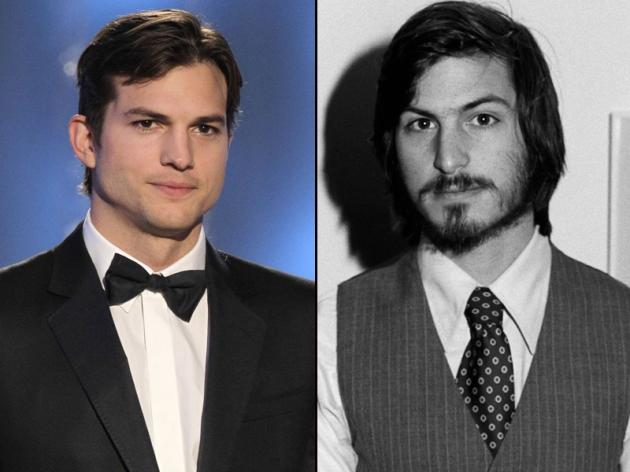 Ashton Kutcher/Steve Jobs -- Getty Images