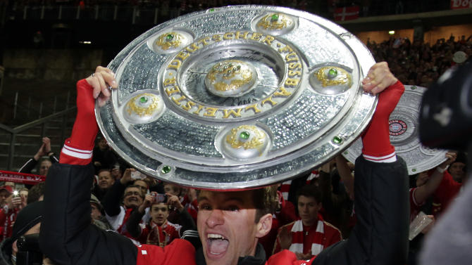 Bayern wins Bundesliga tittle in record time