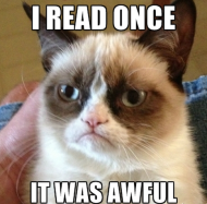 Content Marketing Interview Questions image grumpycatreading