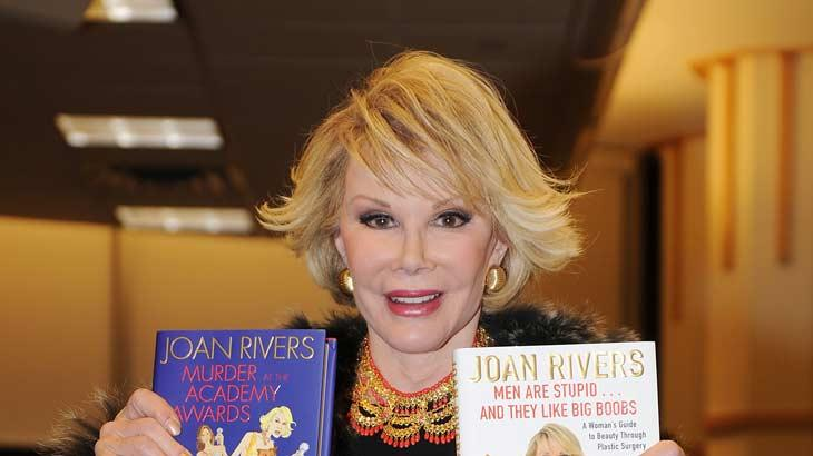 Joan Rivers Book Signing