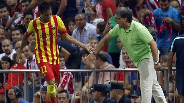 Liga - Neymar makes case for starting place