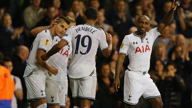 Europa League - Defoe nets brace as Spurs brush aside Tromso