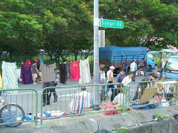 Thieves' Market at Sungei Road is Singapore's oldest flea market.(Aldwin Teo)