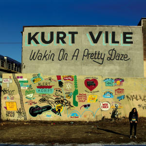 """This CD cover image released by Matador Records shows """"Wakin on a Pretty Daze,"""" by Kurt Vile. (AP Photo/Matador Records)"""