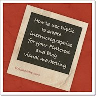 Pinterest Visual Marketing Tip – Using Diptic To Create Instructographics image HowToUseDipticToCreateInstructographicsForPinterestAndBlogVisualMarketingByKrishnaDe