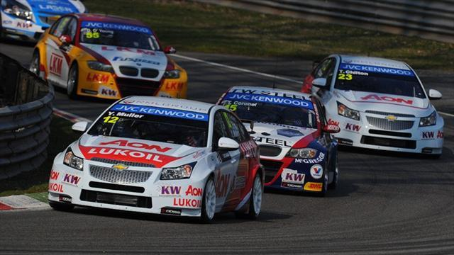 WTCC - Muller claims pole in Hungary