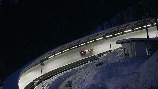 Bobsleigh - Baines proud as GBR2 four-man crew mix it with best in Sochi