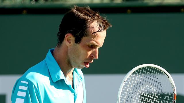 Tennis - Stepanek sets up Nadal clash at Indian Wells