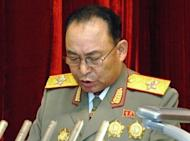 North Korea's military chief of staff Ri Yong-Ho is seen in Pyongyang in April 2012. Ri, 69, became head of the army in 2009 with the official title Chief of the General Staff of the Korean People's Army. His removal from office is seen a surprising because the North seldom relieves party or military leaders simply for health reasons