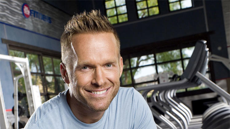Bob Harper trains the contestants on NBC's The Biggest Loser