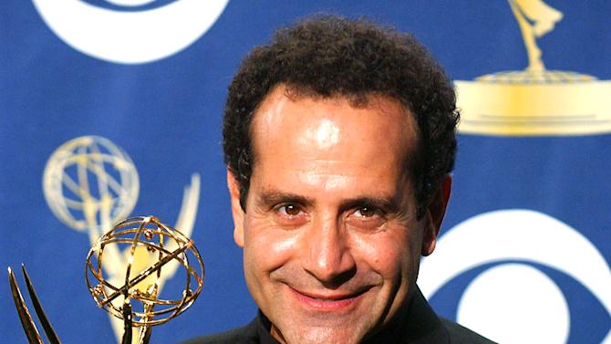 "Tony Shalhoub, winner of Outstanding Lead Actor in a Comedy Series for ""Monk"" at The 57th Annual Primetime Emmy Awards."