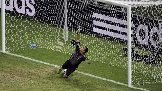 Confederations Cup - Casillas admits Spain were 'lucky'
