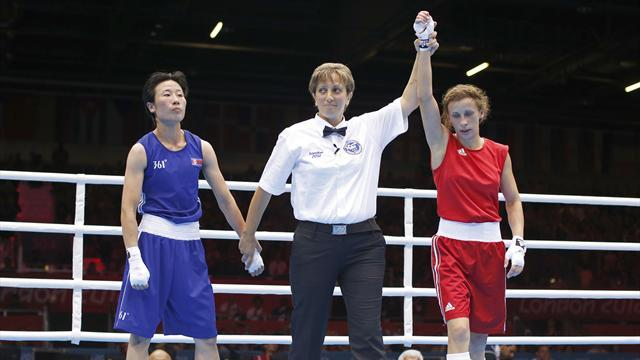 Olympic Games - Russian wins first women's Olympic boxing bout