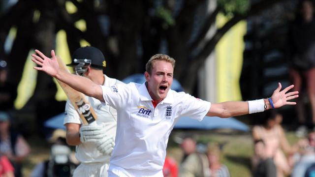 Cricket - England's pressure delights Broad
