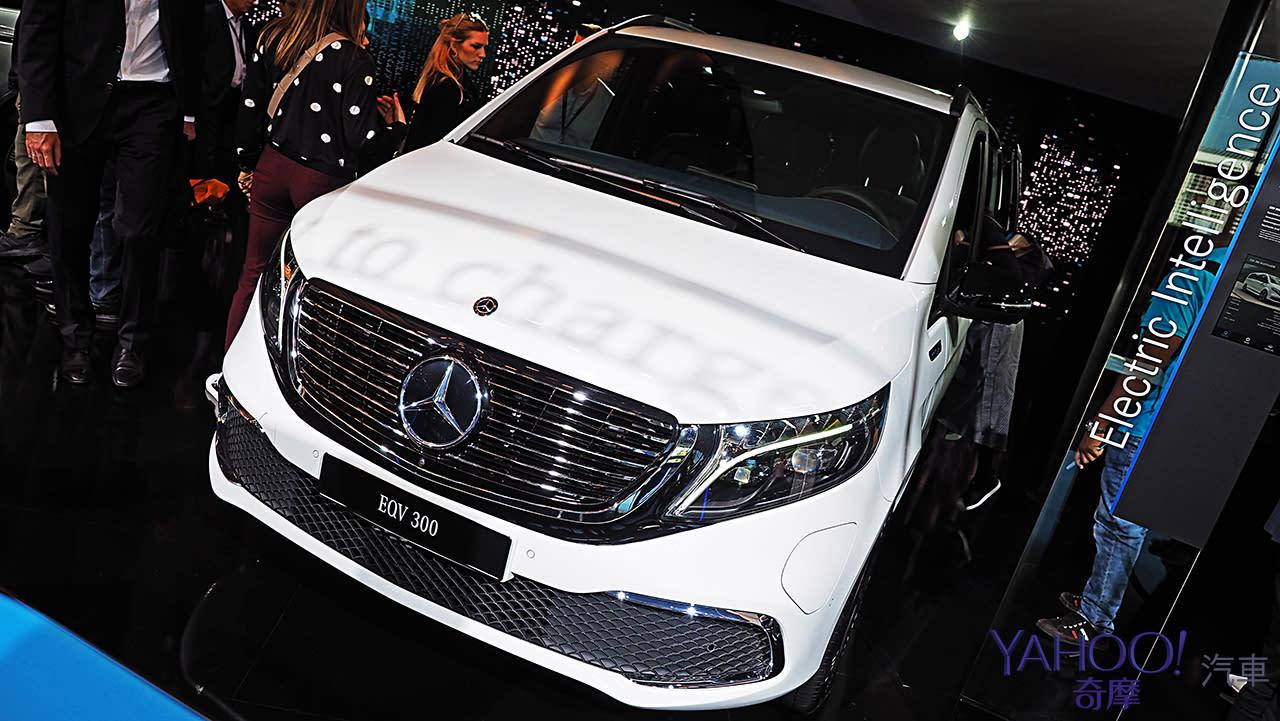 【新車圖輯】不疾不徐展現純電特長!M-Benz純電MPV座駕EQV展現載很大使命
