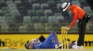 Photo illustration. Cricket's chief executives Monday backed the mandatory use of video umpires in Tests and one-day internationals, a year after they were made optional at the request of powerful India