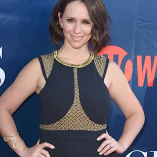 Jennifer Love Hewitt arrives at the 2014 Television Critics Association Summer Press Tour - CBS, CW And Showtime Party at Pacific Design Center on July 17, 2014 -- Getty Images